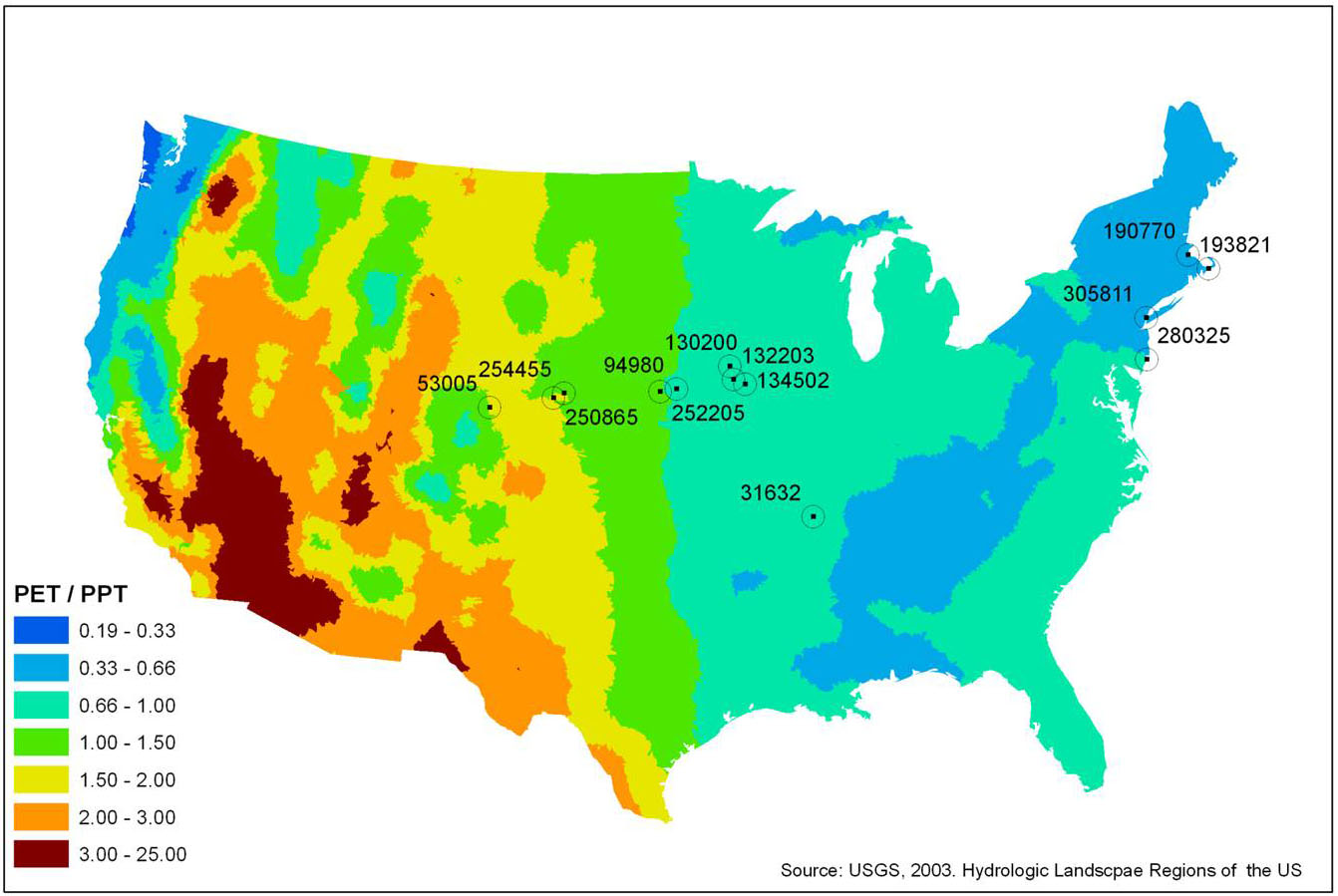 Todays PrecipitationRich And Poor Regions Praxis In Landscape - Landscape map of usa