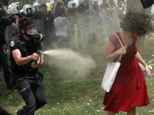 Gezi Park protest - Photograph: Osman Orsal/Reuters